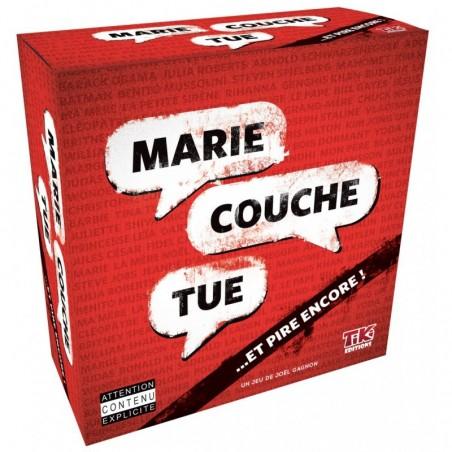 Marie couche tue un jeu TIKI Editions