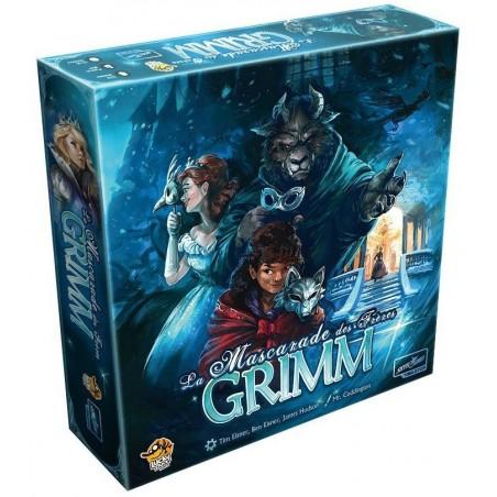 La mascarade des frères Grimm un jeu Lucky Duck Games