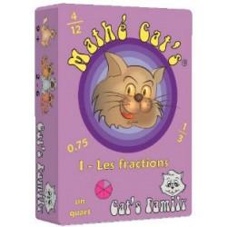 Mathé Cat's 1 - Les fractions un jeu Cat's Family