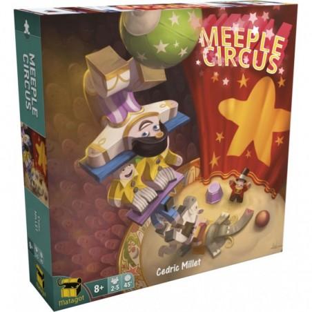 Meeple Circus un jeu Matagot