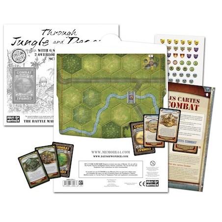 Dans la jungle et le desert un jeu Days of wonder