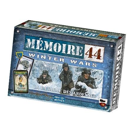Mémoire 44 - Winter Wars : la bataille des Ardennes un jeu Days of wonder