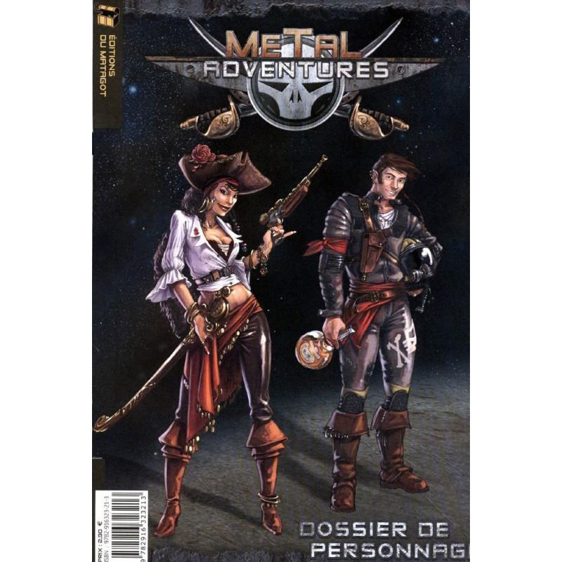 Metal Adventures - dossier de personnage un jeu Matagot