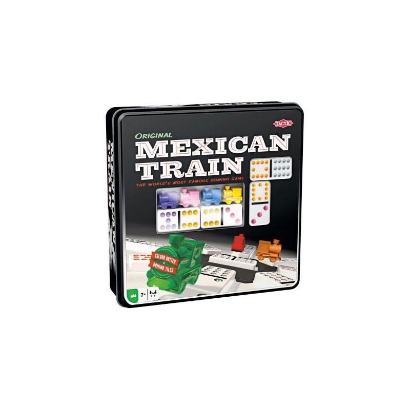 Mexican Train - boite métal un jeu Tactic