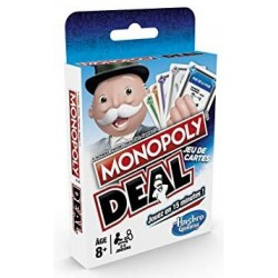Monopoly deal un jeu Hasbro
