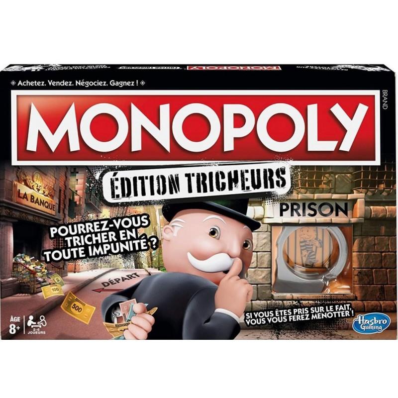 Monopoly - Tricheurs un jeu Hasbro