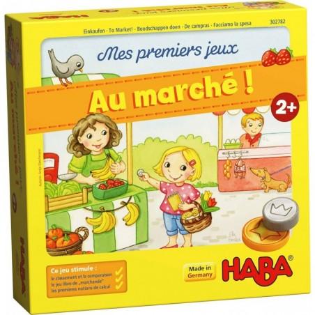 Mes premiers jeux : au marché ! un jeu Haba
