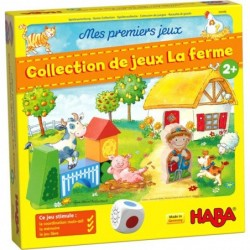 Mes premiers Jeux - Collection jeux à la ferme un jeu Haba