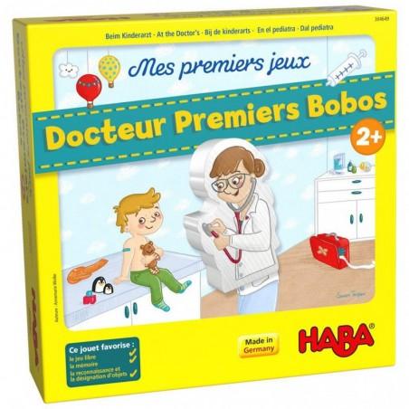 Mes premiers jeux ñ Docteur Premiers Bobos un jeu Haba