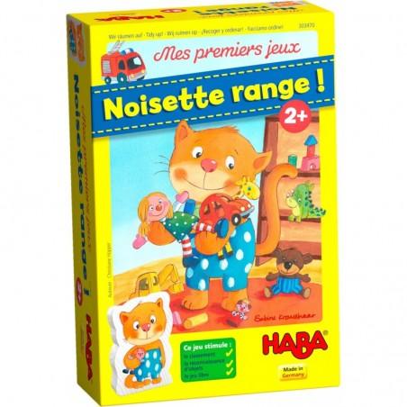 Noisette Range ! un jeu Haba