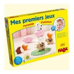 Mes premiers Jeux Pyramide d'animaux un jeu Haba