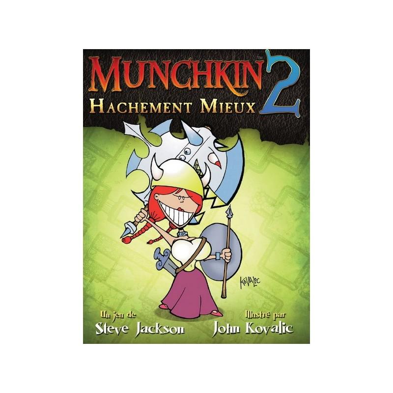 Munchkin 2 : Hachement mieux ! un jeu Edge