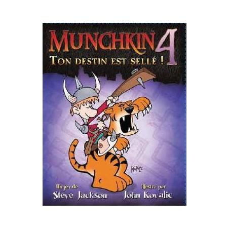 Munchkin 4 - Ton destin est sellé ! - nouvelle édition un jeu Edge