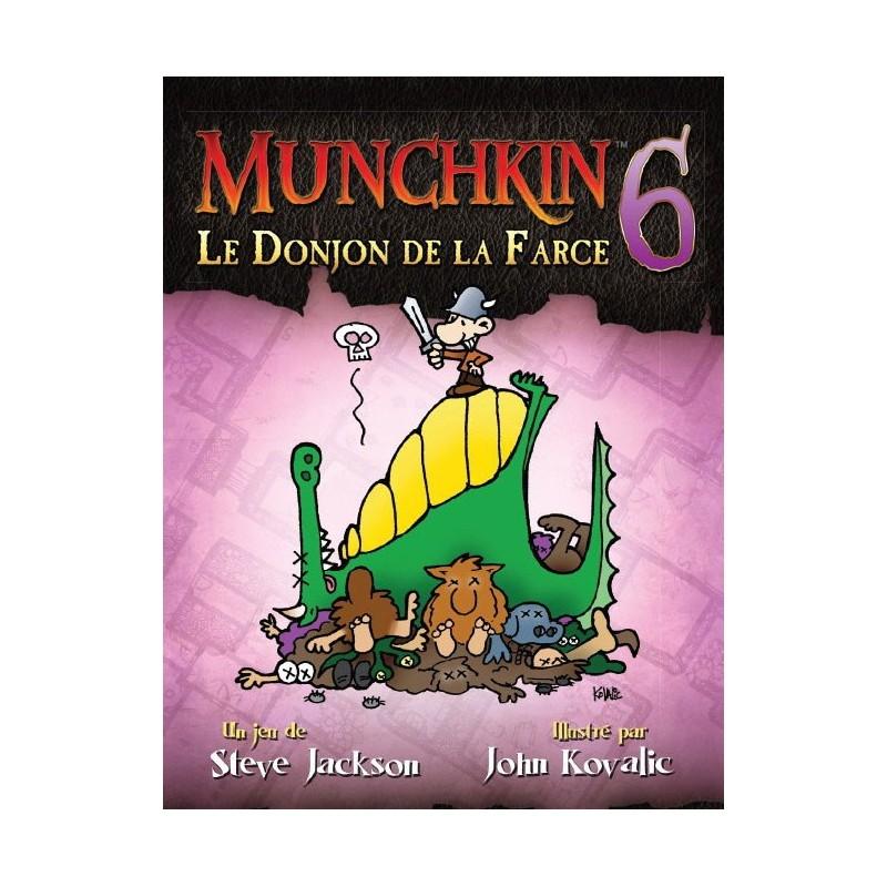Munchkin 6 - Le Donjon de la Farce un jeu Edge