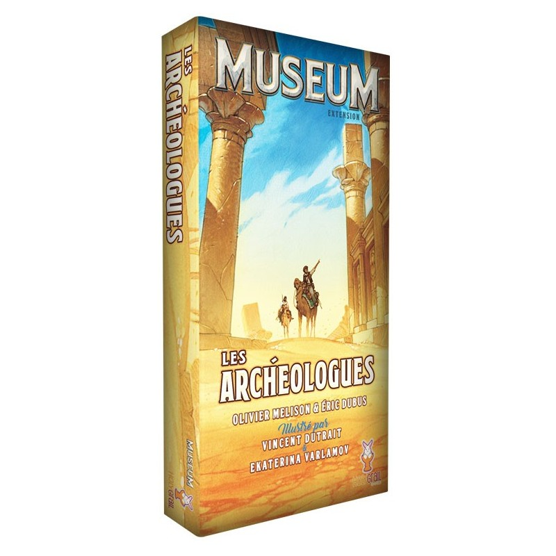 Museum - Les archéologues un jeu Pixie Games