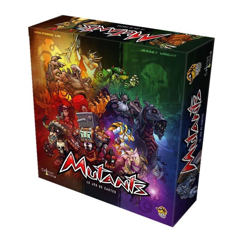 Mutants - Le jeu de cartes un jeu Lucky Duck Games