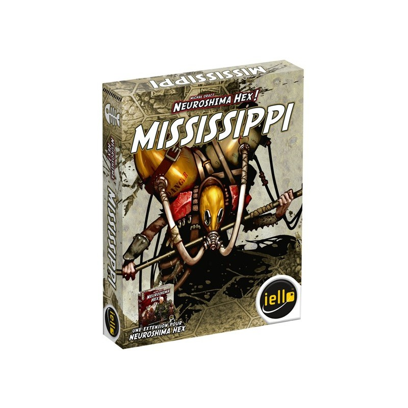Neuroshima - Mississippi un jeu Iello
