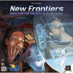 New frontier : Race for the galaxy plateau un jeu Gigamic