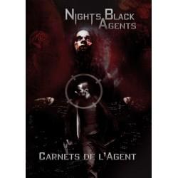 Night's Black Agents - Carnet de l'agent un jeu 7ème cercle