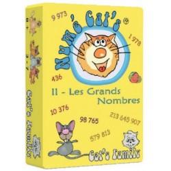 Numé Cat's 2 - Les grands nombres un jeu Cat's Family