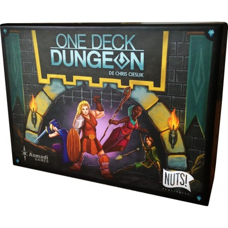 One deck dungeon un jeu Nuts Publishing