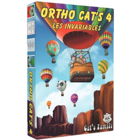Ortho Cat's 4 - Les invariables un jeu Cat's Family