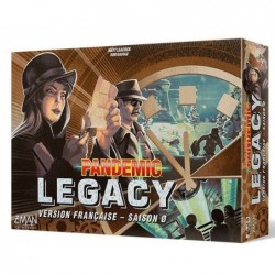 Pandemic legacy - Saison 0 un jeu Z-Man Games