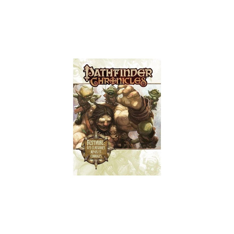 Pathfinder Chronicles Bestiaire un jeu Black Book