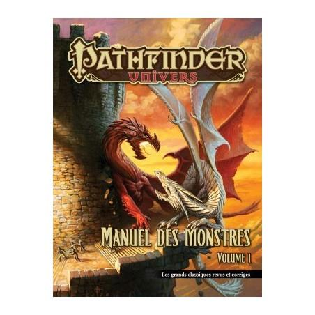 Pathfinder Manuel des Monstres Volume 1 un jeu Black Book
