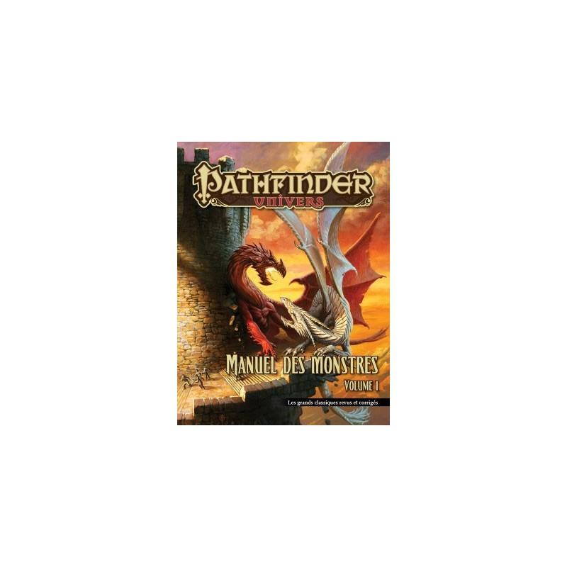 Pathfinder Manuel des Monstres Volume 1 - Couverture rigide un jeu Black Book