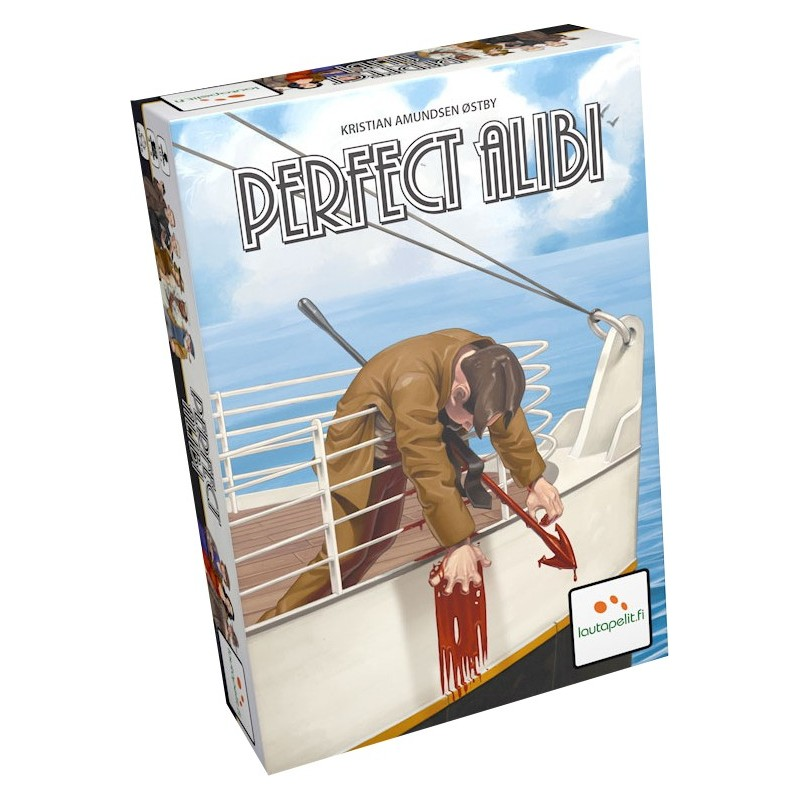 Perfect Alibi un jeu Lautapelit