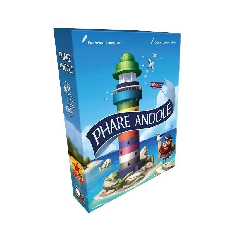 Phare Andole un jeu Oka Luda Editions