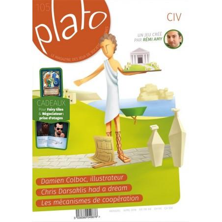Plato magazine n∞105 un jeu Plato magazine