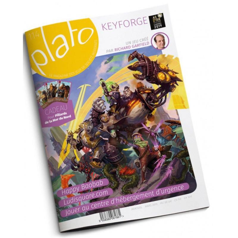 Plato magazine n∞114 un jeu Plato magazine