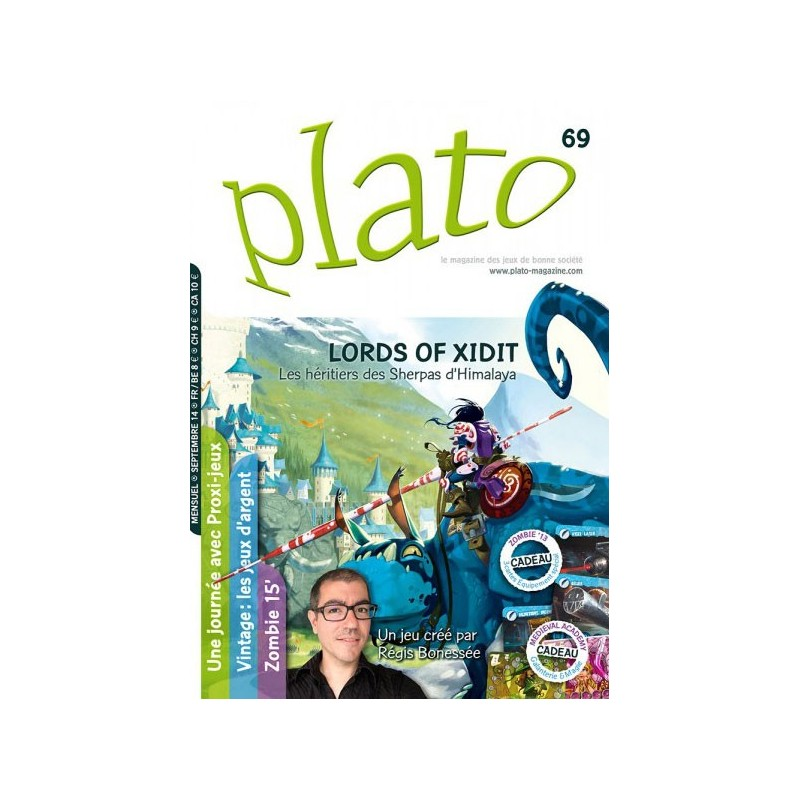 Plato n∞69 un jeu Plato magazine
