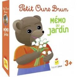 Petit Ours Brun - Mémo du Jardin un jeu Bayard Jeux