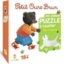 Petit Ours Brun - Mon premier puzzle à toucher