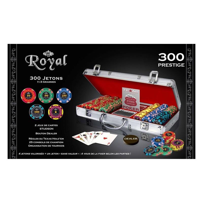 Mallette 300 jetons - Royal un jeu Spot games
