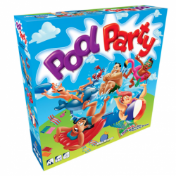 Pool Party un jeu Blue orange