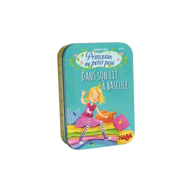 Princesse au petit pois dans son lit à bascule un jeu Haba