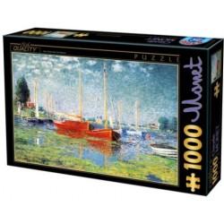 Puzzle 1000 pièces - Monet - Argenteuil un jeu D-Toys