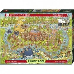 Puzzle 1000 pièces - Australian habitat un jeu Heye