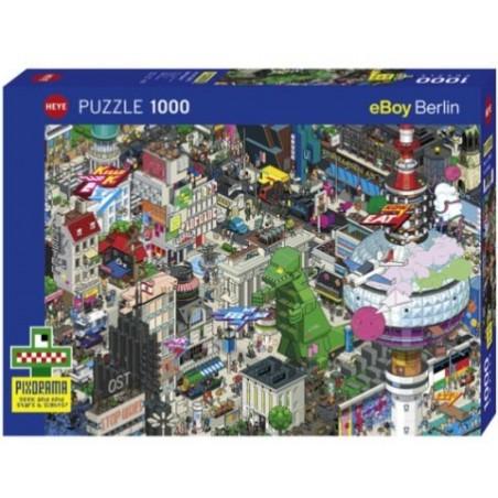 Puzzle 1000 pièces - Berlin Quest un jeu Heye
