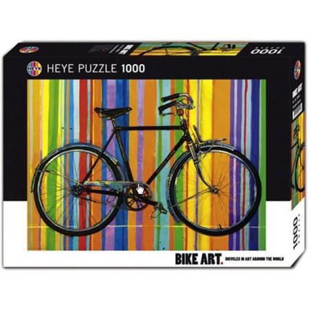 Puzzle 1000 pièces - Bike art freedom deluxe un jeu Heye