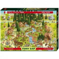 Puzzle 1000 pièces - Black forest habitat un jeu Heye