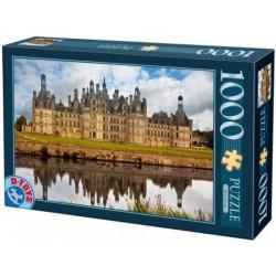 Puzzle 1000 pièces - Château de Chambord un jeu D-Toys