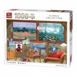 Puzzle 1000 pièces - Claude Monet un jeu King