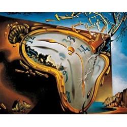 Puzzle 1000 pièces - Dali - Les montres molles un jeu Ricordi