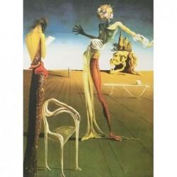 Puzzle 1000 pièces - Dali - Woman with head of roses un jeu Ricordi