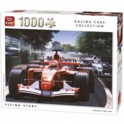 Puzzle 1000 pièces - Départ Formule 1 un jeu King